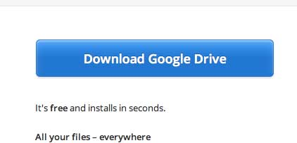 download google drive button