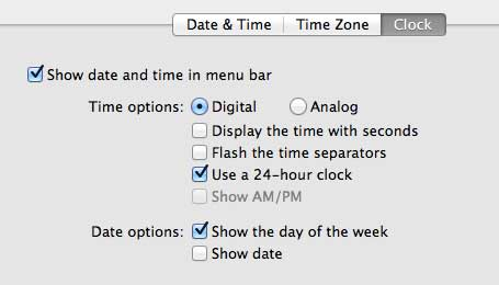 how to use a 24 hour clock on your macbook air