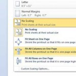 how to print all excel columns on one page