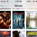 how to watch a movie on the iphone 5