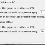 how to check for new mail more frequently in outlook 2013
