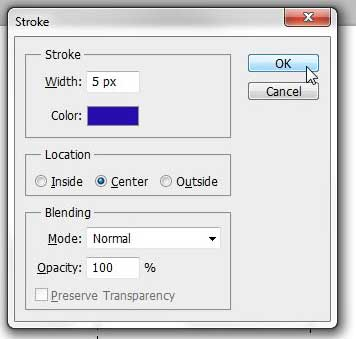 how to draw a square or rectangle in photoshop cs5