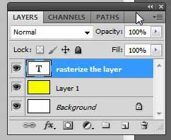 locate the layers panel