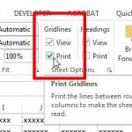 how to print the lines on your spreadsheet in excel 2013