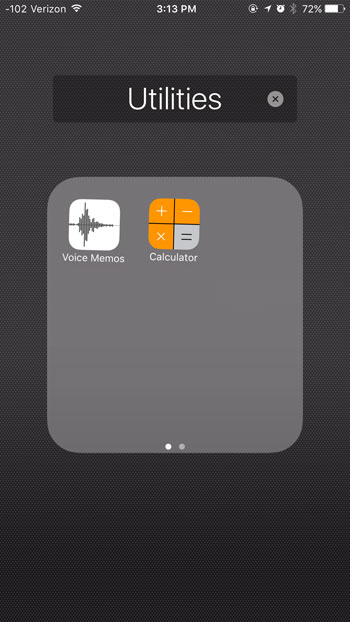 edit ios 9 folder name