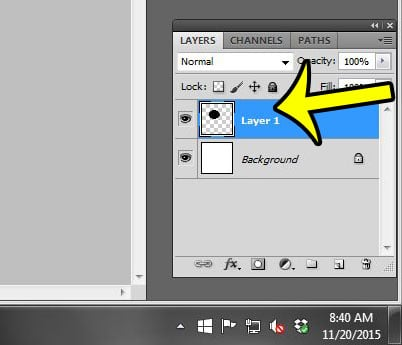 select the layer to rename