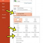 print 4 slides per page in powerpoint 2013
