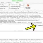 change footer content in word 2013