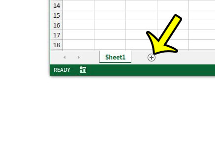 add a new worksheet in excel 2013