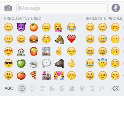 how to add emojis to text messages in ios 9