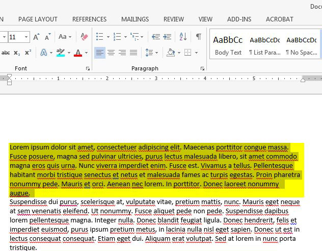 How To Remove Paragraph Shading In Word 2013 Live2tech