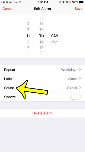 vibration settings iphone how to set an iphone alarm to vibrate only live2tech 6271