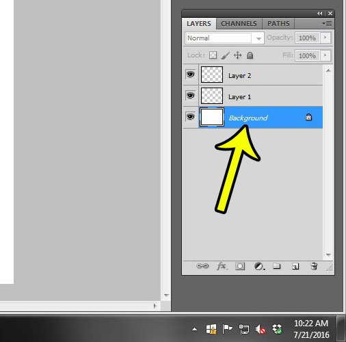 Delete a Layer in Photoshop CS3 - YouTube