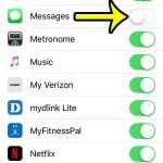 how to add or remove text messages from spotlight search