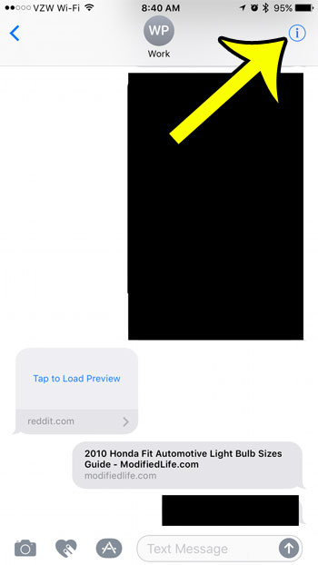 How to Block a Text Message Sender on an iPhone 7 - Live2Tech