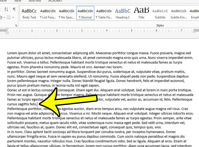 How To Insert A Blank Page In The Middle Of A Document In Word - Blank word document