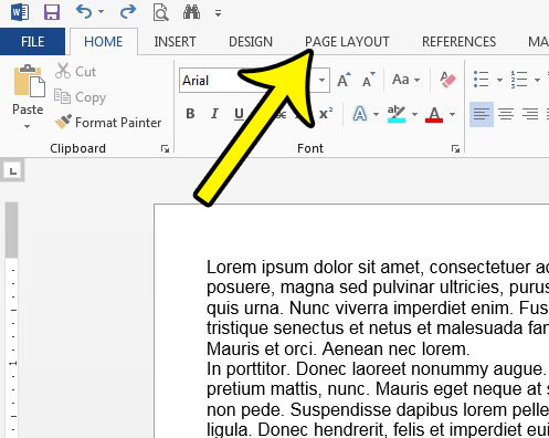 how to make a document two columns in word 2013