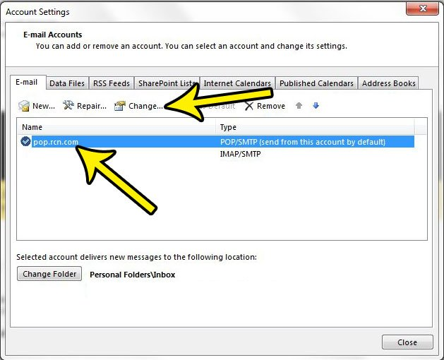 what are my incoming and outgoing port numbers in outlook 2013