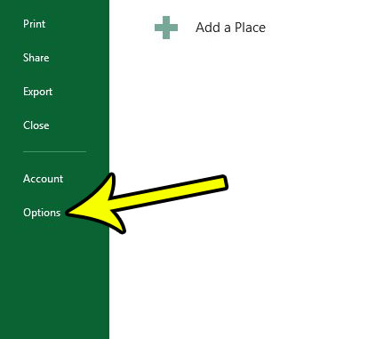 switch from inches to centimeters in excel 2013