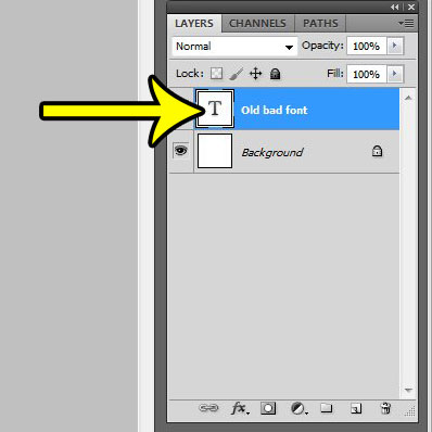 how to use a different font in photoshop cs5