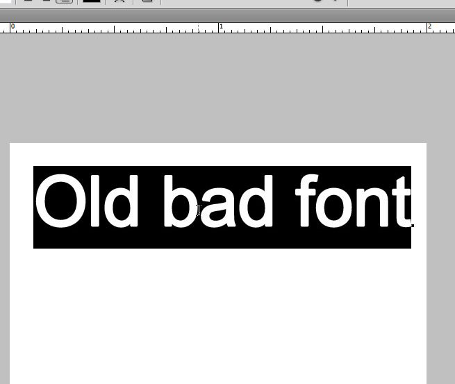 how to change the text font in photoshop cs5