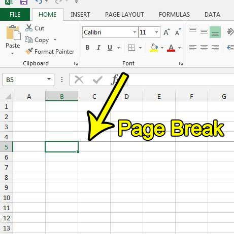 How to Remove a Page Break in Excel 2013 - Live2Tech