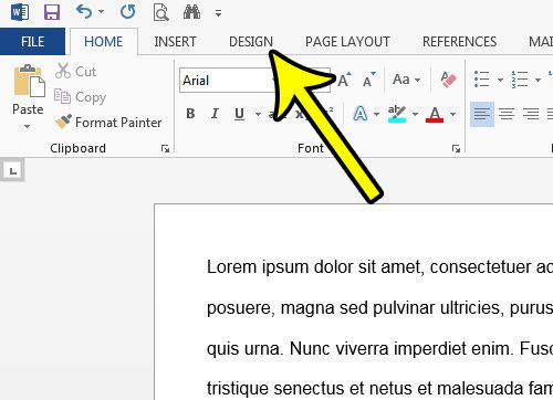 how to single space a document in word 2013