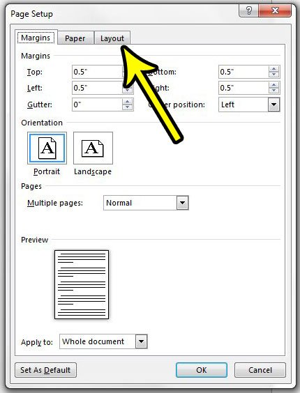 how to vertically center text in word 2013