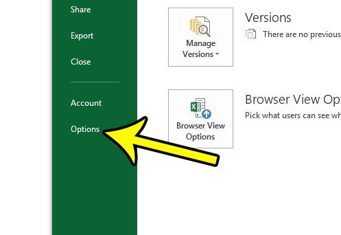 how to display tabs in excel 2013