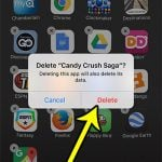 how to delete an app from an iphone 7