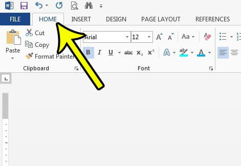 clear all text formatting in word