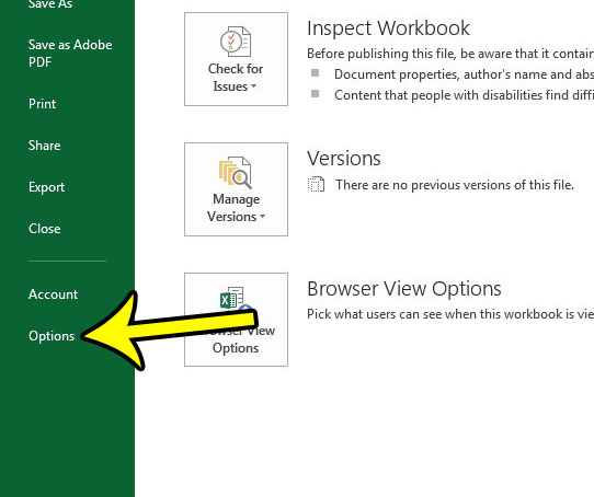 How To Show The Developer Tab In Excel 2013