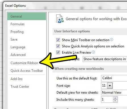 how to bring developer tab in excel