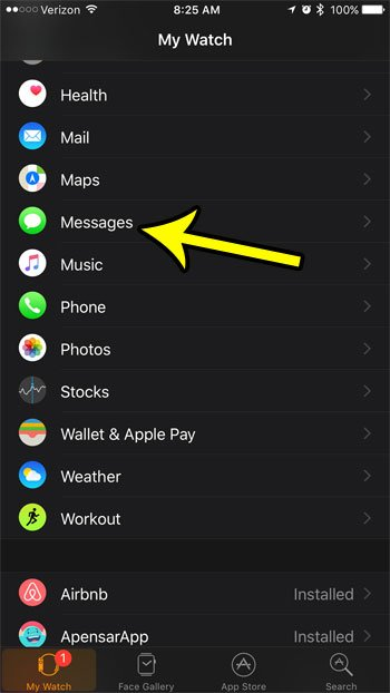 How to Turn Off Message Read Receipts on the Apple Watch - Live2Tech