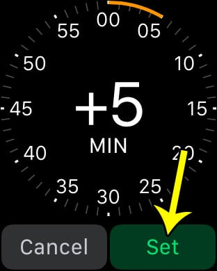 how to set watch time ahead on apple watch