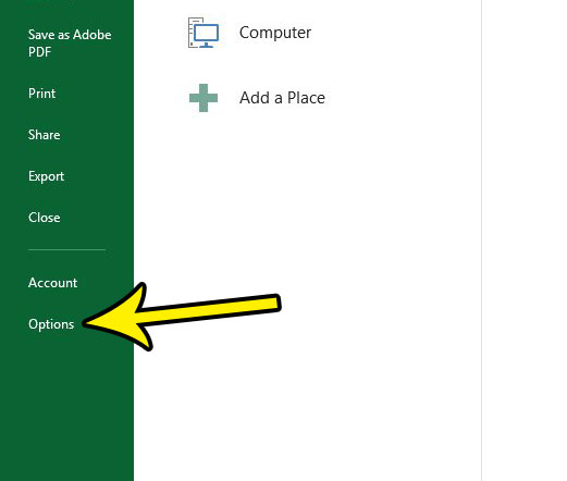how to get scroll bar in excel