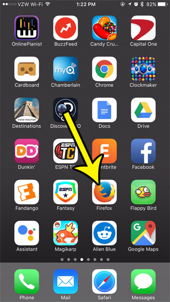 How to Set Your Homepage in the iPhone Firefox App - Live2Tech