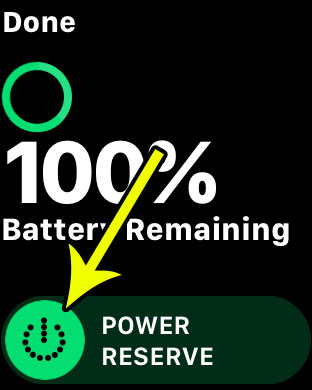 conserve apple watch battery life