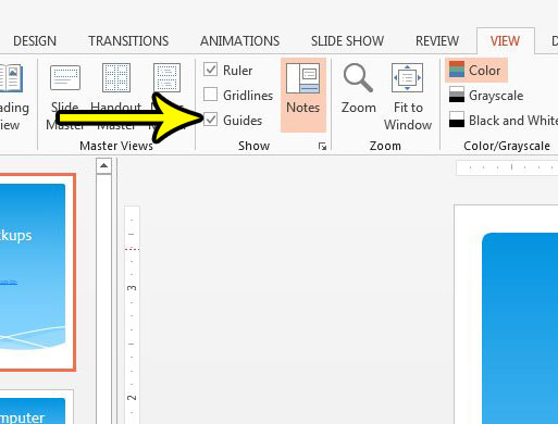 how to enable powerpoint 2013 guides