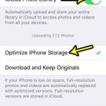how to manage picture storage on an iphone se
