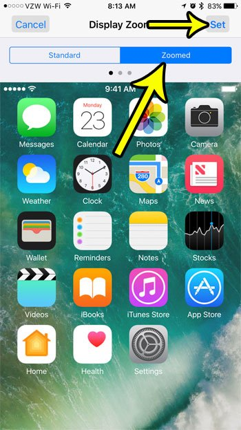 make app icons bigger on iphone
