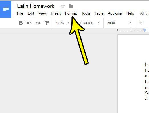 how to increase the number of columns in google docs