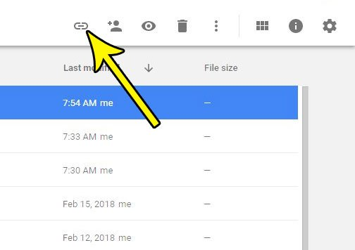 how to make google sheets file unshared