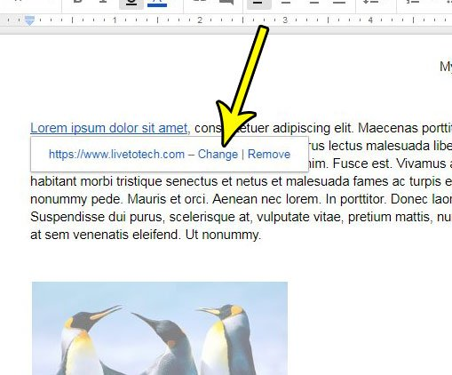how to edit google docs hyperlinks