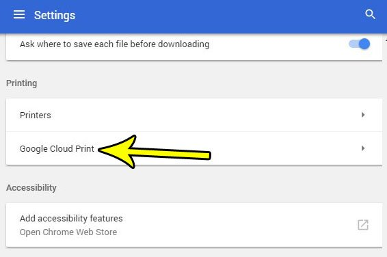 How to Turn Off Google Cloud Print Notifications for New Printers