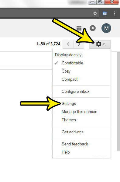 hide email content in gmail inbox