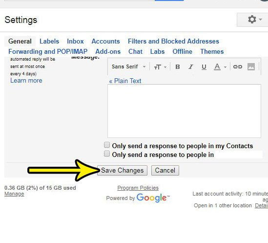 how to stop showing gmail snippets