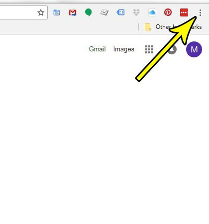 how to show or display bookmarks bar in google chrome