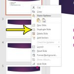 how to duplicate a slide in powerpoint 2016