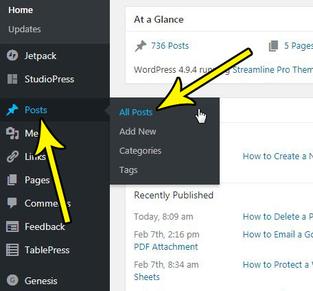 how to view post drafts in wordpress